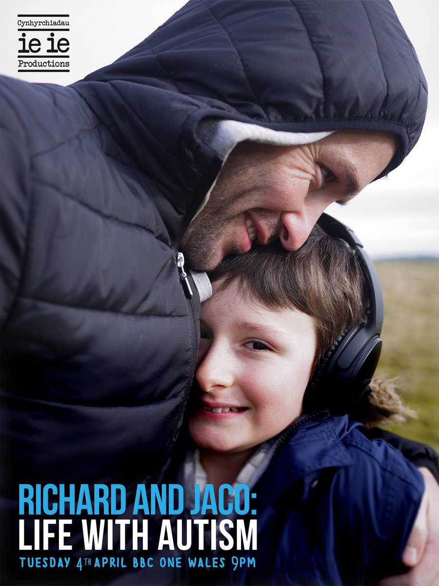Richard Mylan features in a BBC Wales documentary 'Richard and Jaco: Life with Autism'